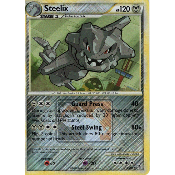Steelix - 24/95 League Promo - Holo