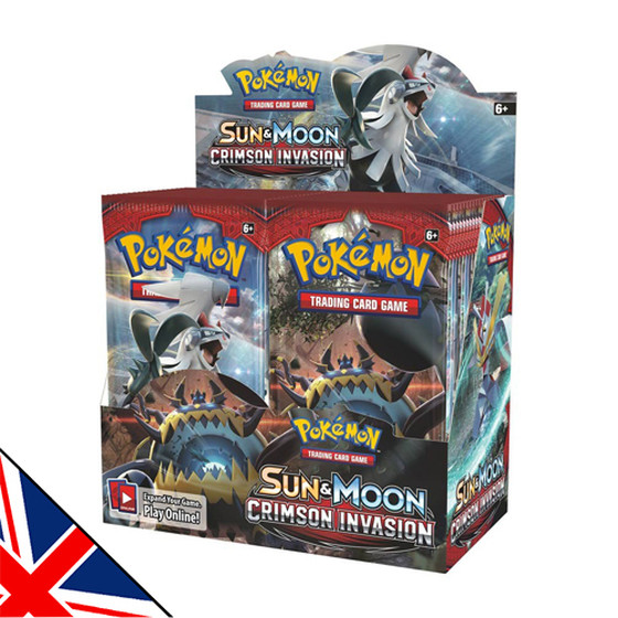 Sun & Moon: Crimson Invasion Display (Englisch)