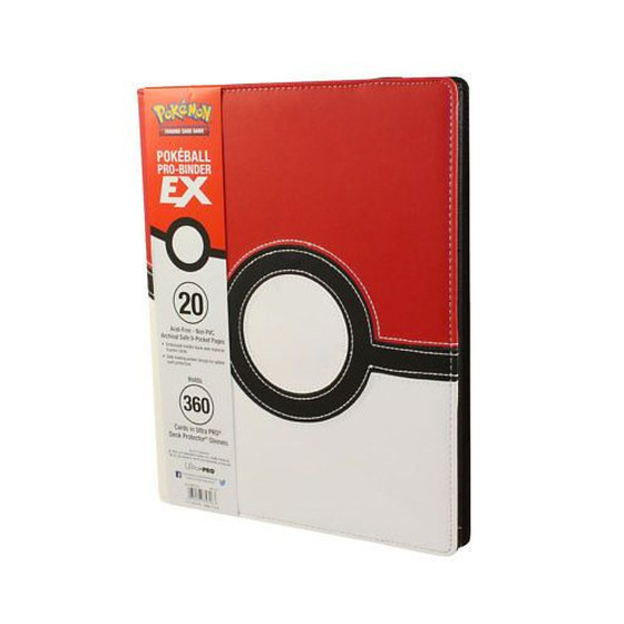 Ultra Pro - Premium Pro Binder Pokeball EX (9-Pocket)