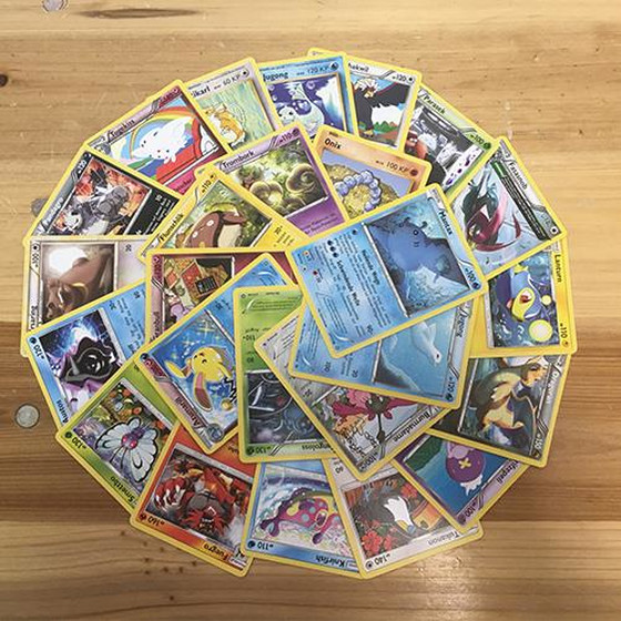 25 German Pokemon Cards with 100HP or more