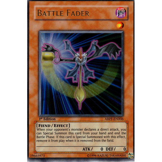 Battle Fader - ABPF-EN006 - Ultra Rare