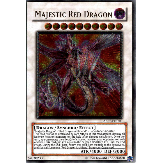 Majestic Red Dragon - ABPF-EN040 - Ultimate Rare
