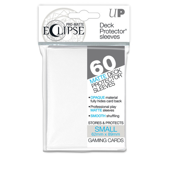 Ultra Pro Eclipse Pro Matte White Small - 60 Sleeves