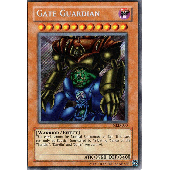 Gate Guardian - MRD-000 - Secret Rare