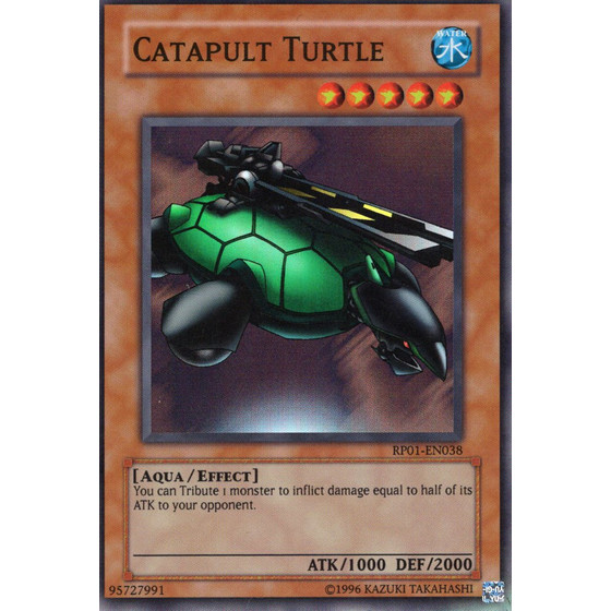 Catapult Turtle - MRD-E075 - Super Rare