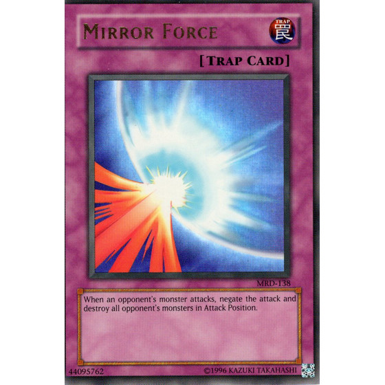 Mirror Force - MRD-E138 - Ultra Rare