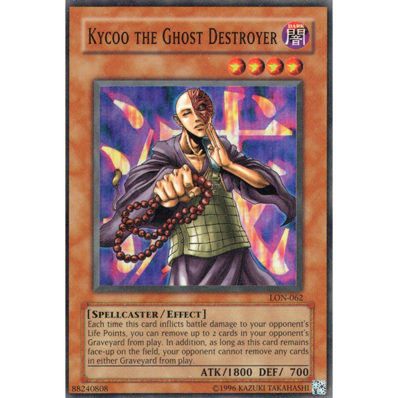 Kycoo the Ghost Destroyer - LON-E062 - Super Rare