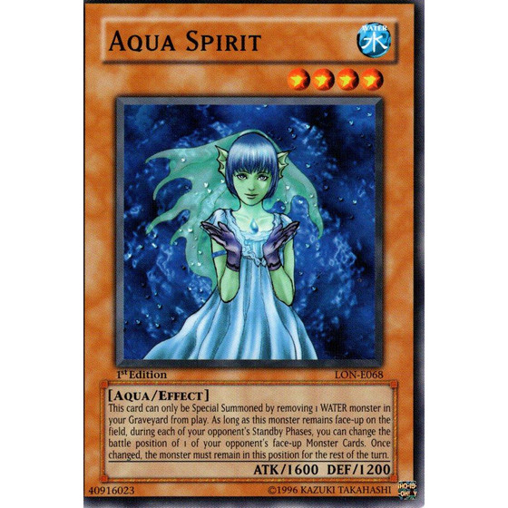 Aqua Spirit - LON-E068 - Common