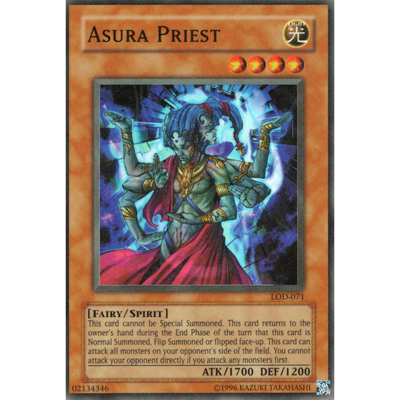 Asura-Priest - LOD-071 - Super Rare