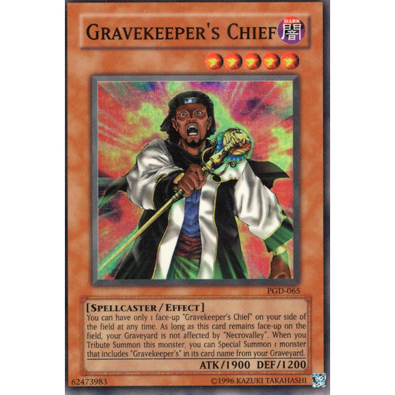Gravekeepers Chief - PGD-065 - Super Rare