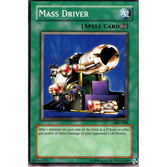 Mass Driver - MFC-088 - Common