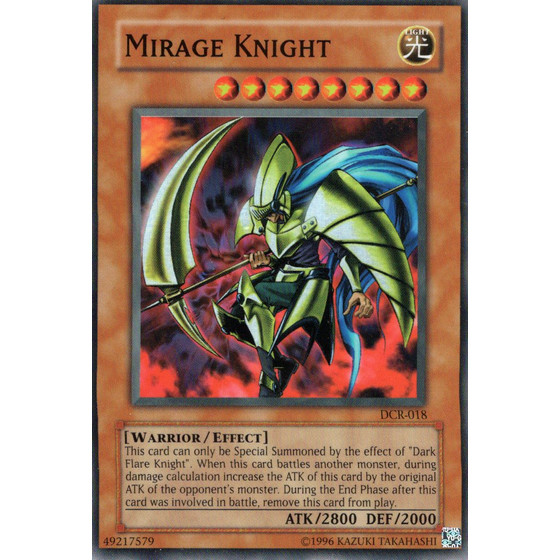 Mirage Knight - DCR-018 - Super Rare