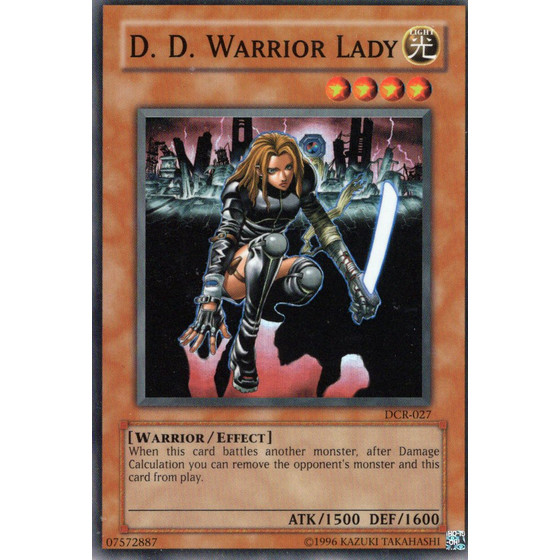 D.D. Warrior Lady - DCR-027 - Super Rare