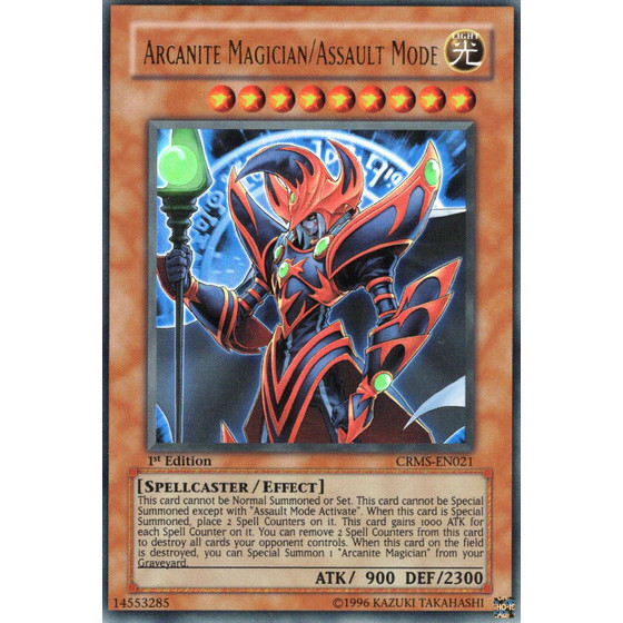 Arcanite Magician/Assault Mode - CRMS-EN021 - Ultra Rare
