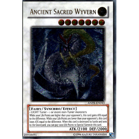 Ancient Sacred Wyvern - ANPR-EN043 - Ultimate Rare