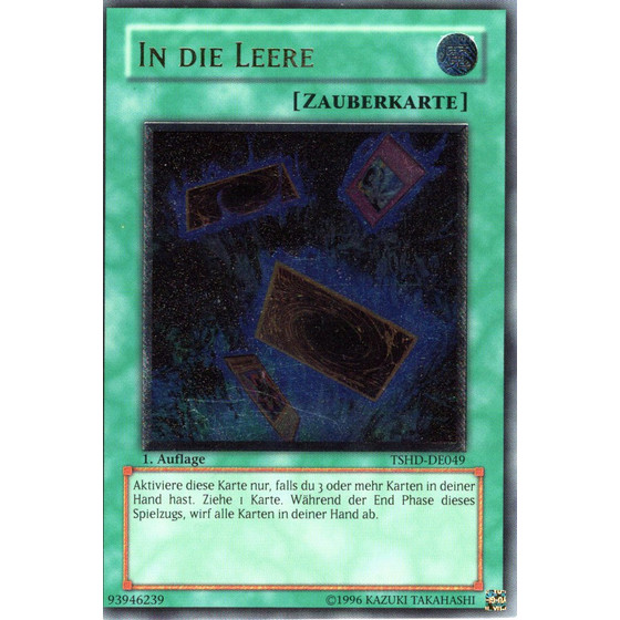 In die Leere - TSHD-DE049 - Ultimate Rare