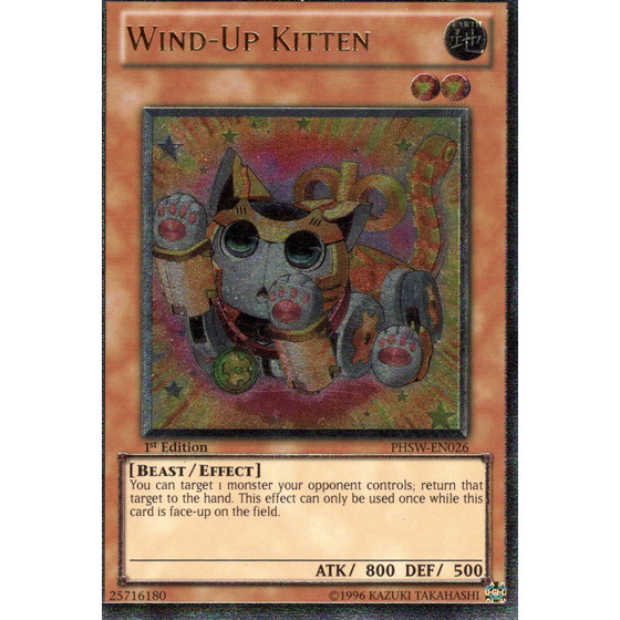 Wind-Up Kitten - PHSW-EN026 - Ultimate Rare