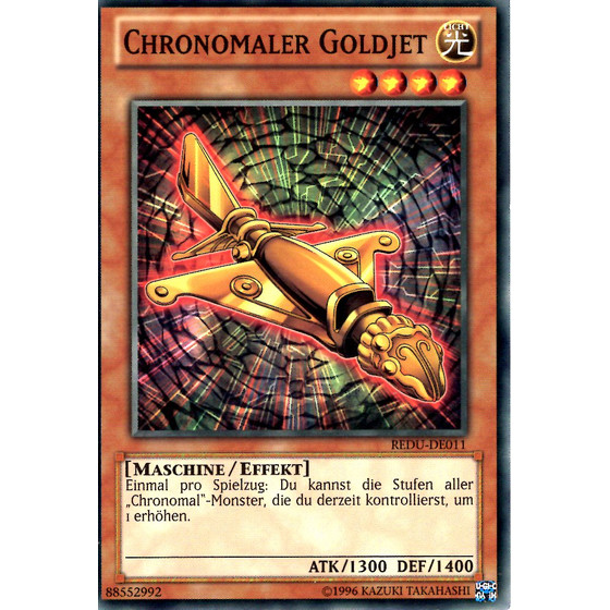 Chronomaler Goldjet - REDU-DE011 - Common