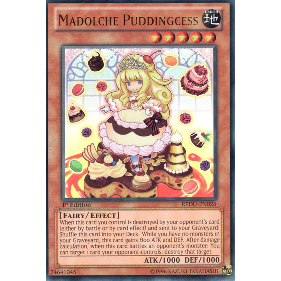 Madolche Puddingcess - REDU-EN026 - Ultra Rare