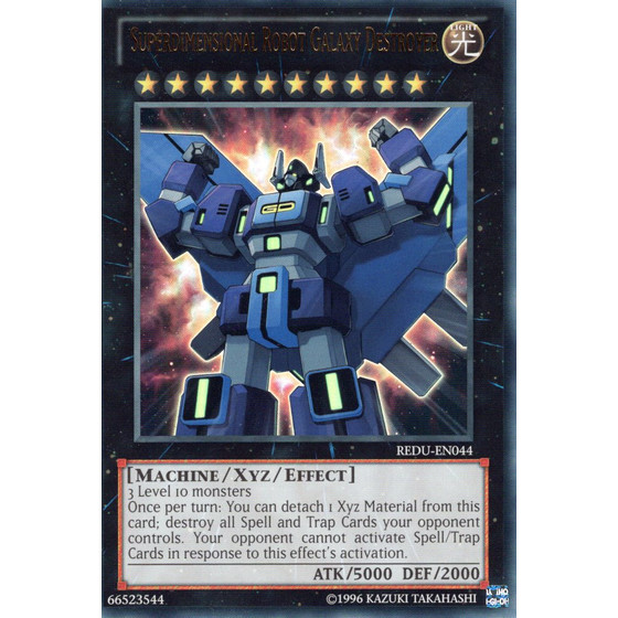 Superdimensional Robot Galaxy Destroyer - REDU-EN044 -...