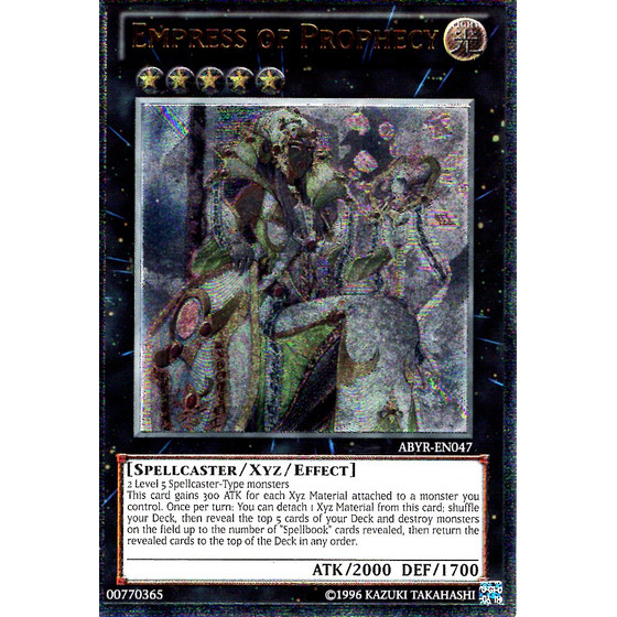 Empress of Prophecy - ABYR-EN047 - Ultimate Rare