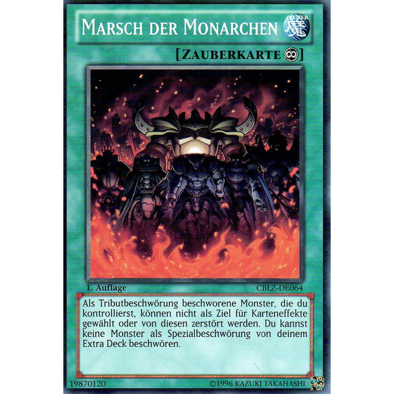 Marsch der Monarchen - CBLZ-DE064 - Common