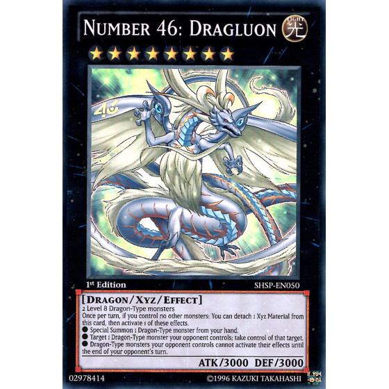Number 46: Dragluon - SHSP-EN050 - Super Rare
