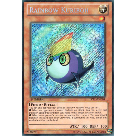 Rainbow Kuriboh - LVAL-EN004 - Secret Rare
