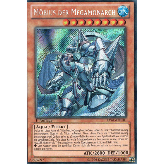 Möbius der Megamonarch - LVAL-DE040 - Secret Rare