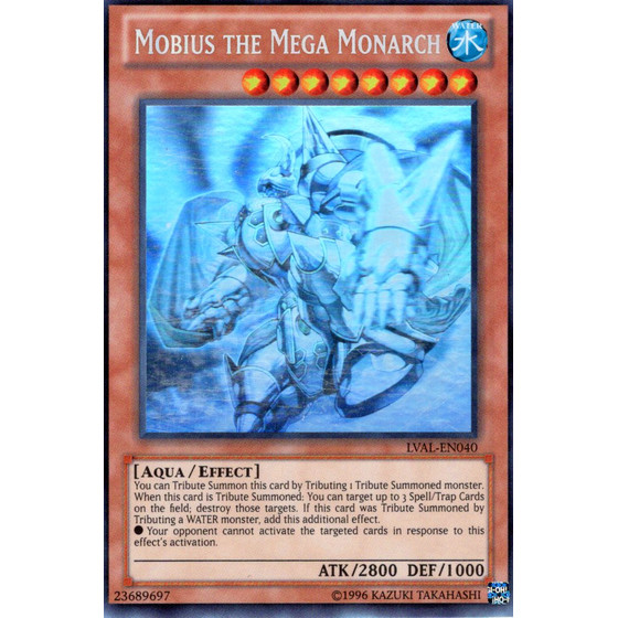 Mobius the Mega Monarch - LVAL-EN040 - Ghost Rare