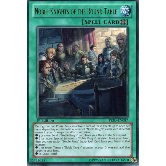 Noble Knights of the Round Table - PRIO-EN087 - Ultra Rare