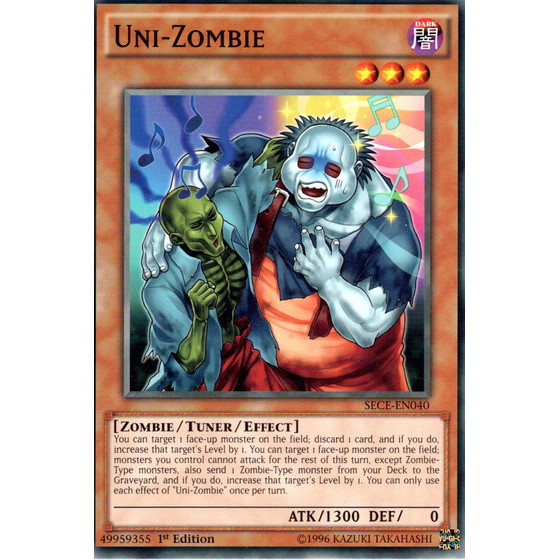 Uni-Zombie - SECE-EN040 - Common