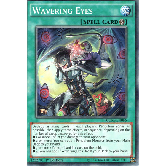 Wavering Eyes - CORE-EN066 - Common
