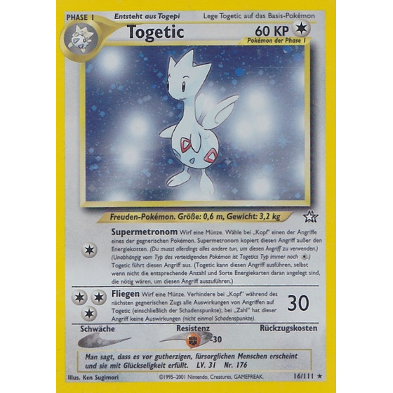 Togetic - 16/111 - Holo