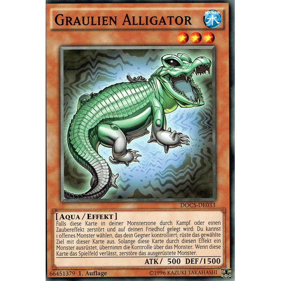 Graulien Alligator - DOCS-DE033 - Common