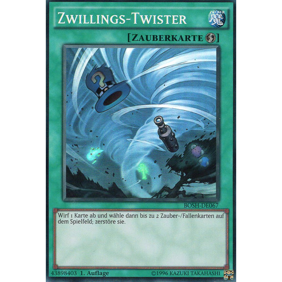 Zwillings-Twister - BOSH-DE067 - Super Rare