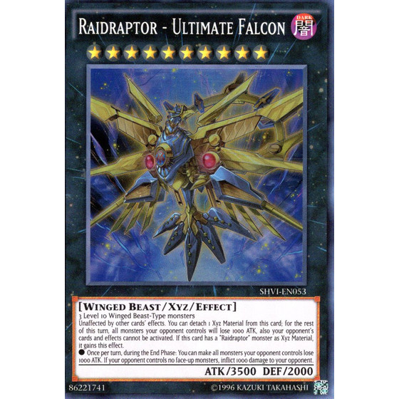Überfallraptor - Ultimativer Falke - SHVI-EN053 - Super Rare