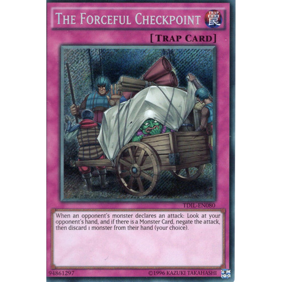 The Forceful Checkpoint - TDIL-EN080 - Secret Rare
