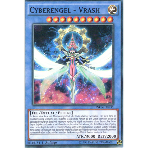 Cyberengel - Vrash - INOV-DE036 - Super Rare