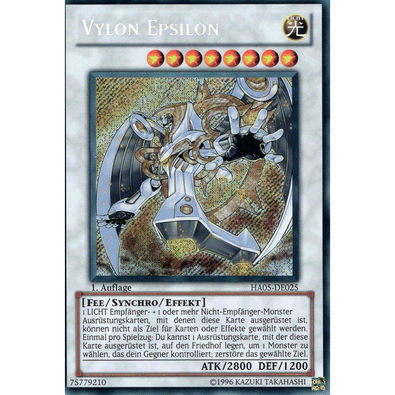 Vylon Epsilon - HA05-DE025 - Secret Rare