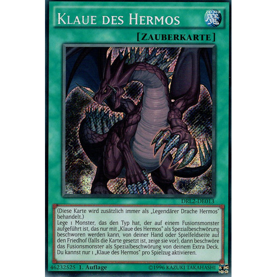 Klaue des Hermos - DRL2-DE013 - Secret Rare
