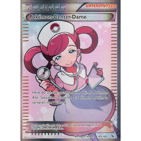 Pokemon-Center-Dame - 105/106 - Fullart