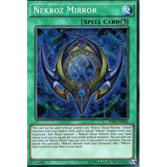 Nekroz Mirror - THSF-EN020 - Secret Rare