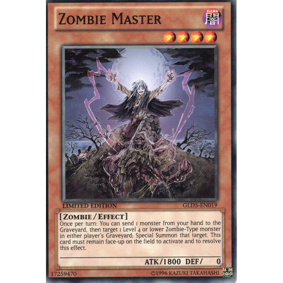 Zombie Master - GLD5-EN019 - Common