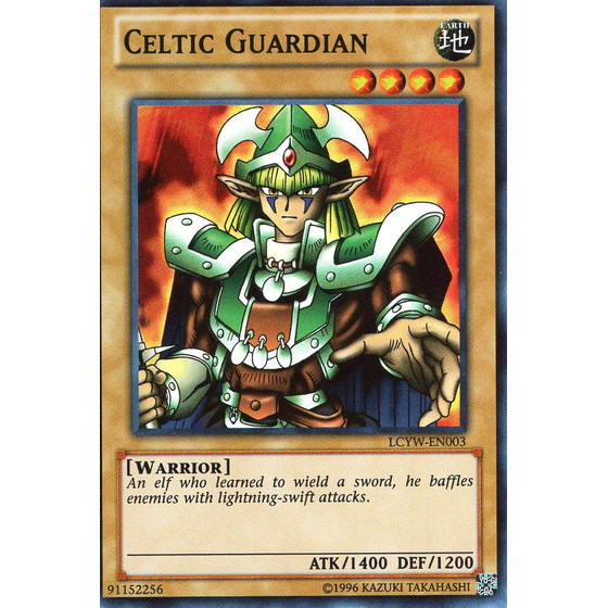 Celtic Guardian - LCYW-EN003 - Super Rare