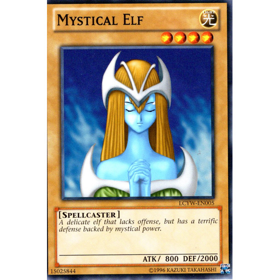 Mystical Elf - LCYW-EN005 - Common