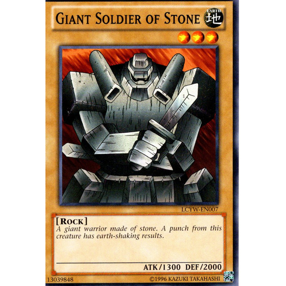 Giant Soldier of Stone - LCYW-EN007 - Common
