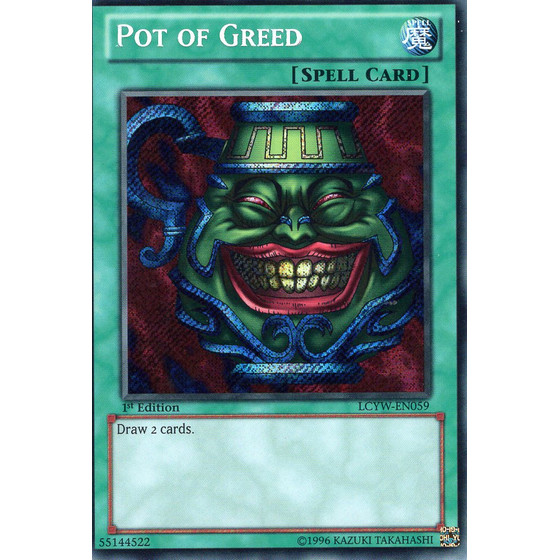 Pot of Greed - LCYW-EN059 - Secret Rare