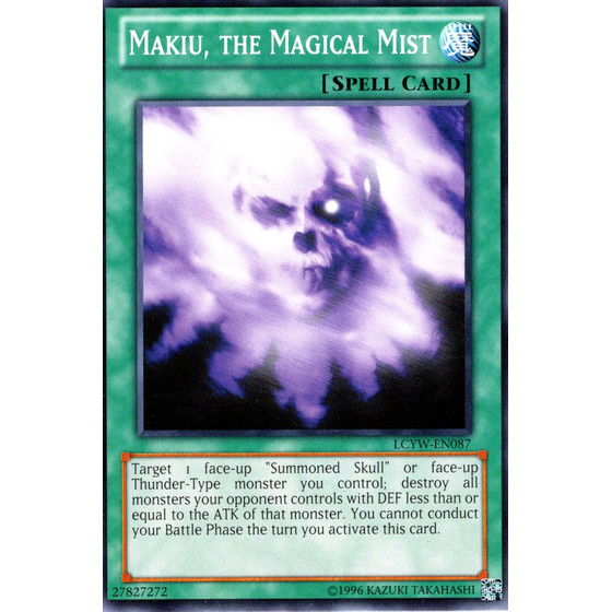 Makiu, the Magical Mist - LCYW-EN087 - Common