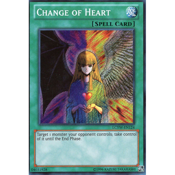 Change of Heart - LCYW-EN124 - Secret Rare